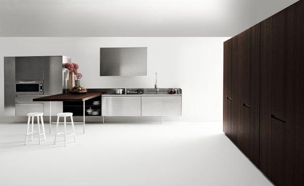 SLIM designed for @Elmar cucine   #Palomba #design #steel