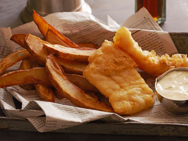 Fish and Chips recipe from Tyler Florence via Food Network