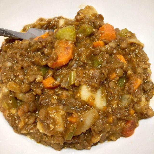 Simple Lentil Stew – veganleeks.com