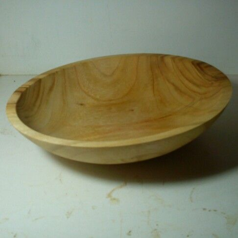 Camphor bowl 380mm by 90mm turnes by me