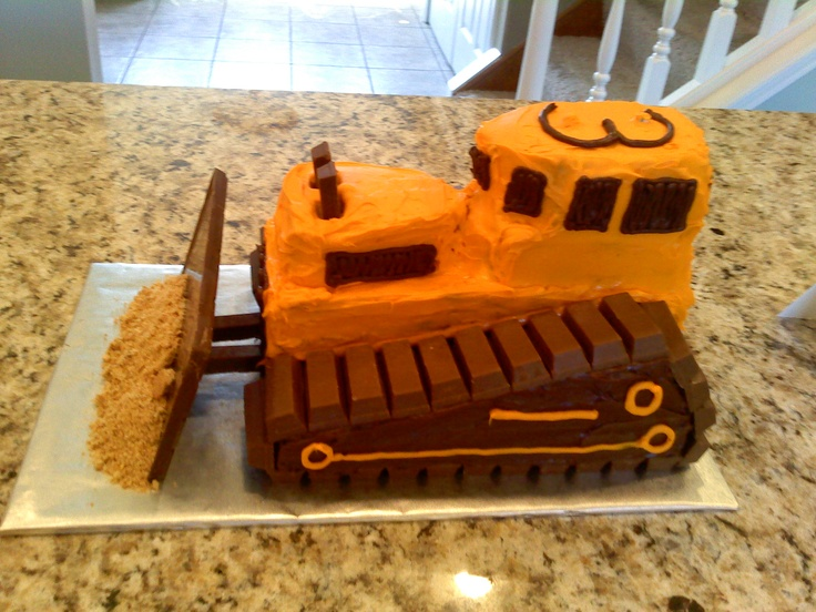 Truck party...2 of 3 cakes I made!!!