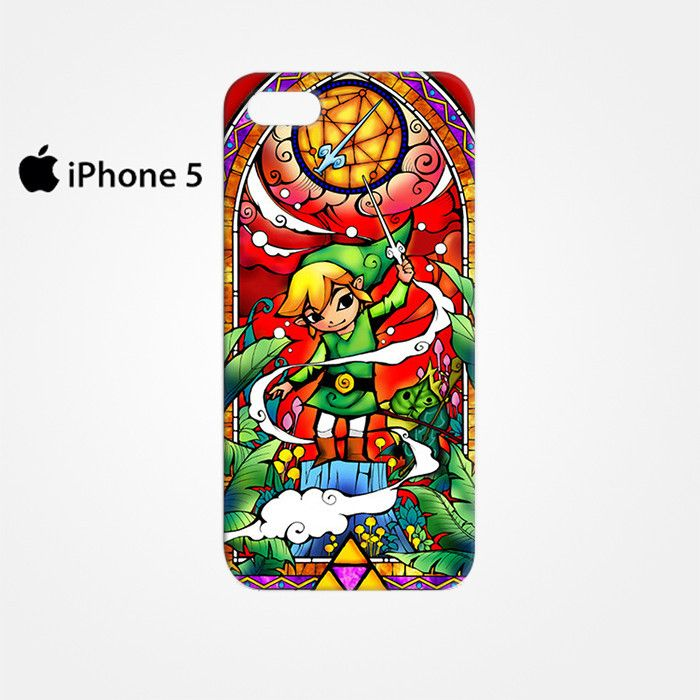 The Legend Of Zelda Stained Glass for Iphone 4/4S Iphone 5/5S/5C Iphone 6/6S/6S Plus/6 Plus 3D Phone case