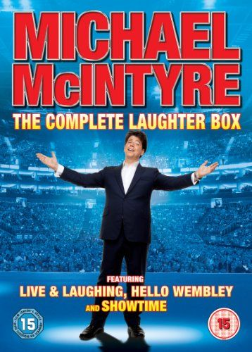 Michael Mcintyre: The Complete Laughter Box DVD 2013: Amazon.co.uk: £5