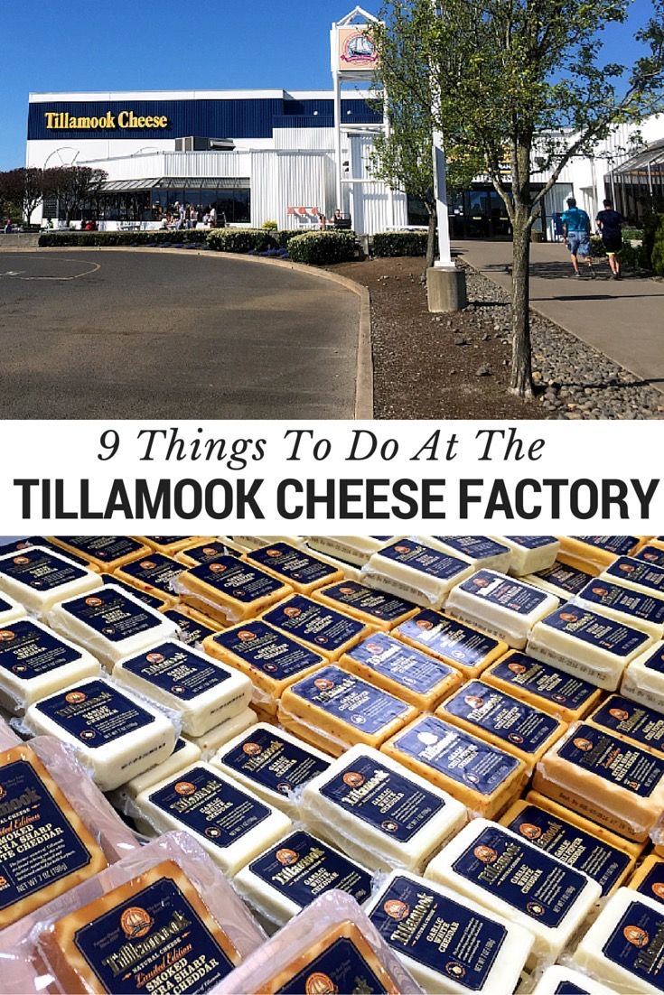 The Tillamook Cheese Factory is a must see attraction when heading the northern coast or Oregon. The cheese is delicious and the tour will not disappoint!   Read more at www.blogtotaste.com