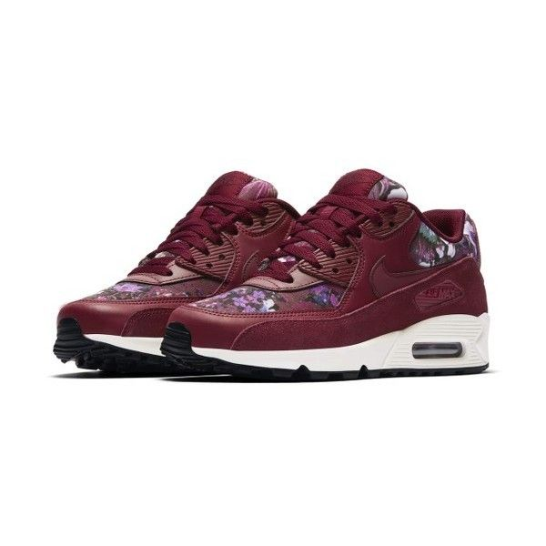 Women's Nike Air Max 90 Se Sneaker (£93) ❤ liked on Polyvore featuring shoes, sneakers, nike footwear, nike trainers, nike, nike shoes and cushioned shoes