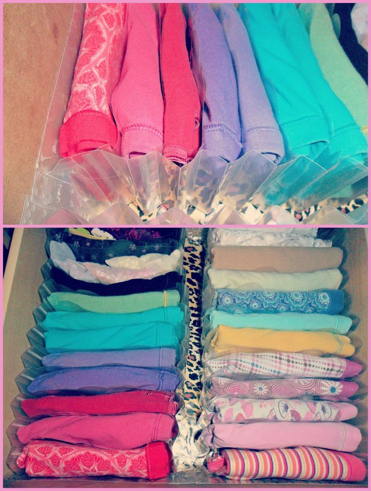 $1 Photo Organizer for underwear drawer.  Home For 4 Sweet Home: {Spring Cleaning} Organizing Underwear