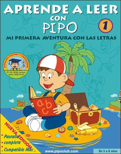 "Portada de ""Aprende a leer con Pipo"""