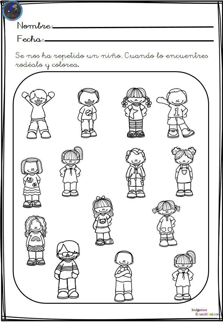 Fichas Para Aprender Agrupar Elementos Educación Imagenes