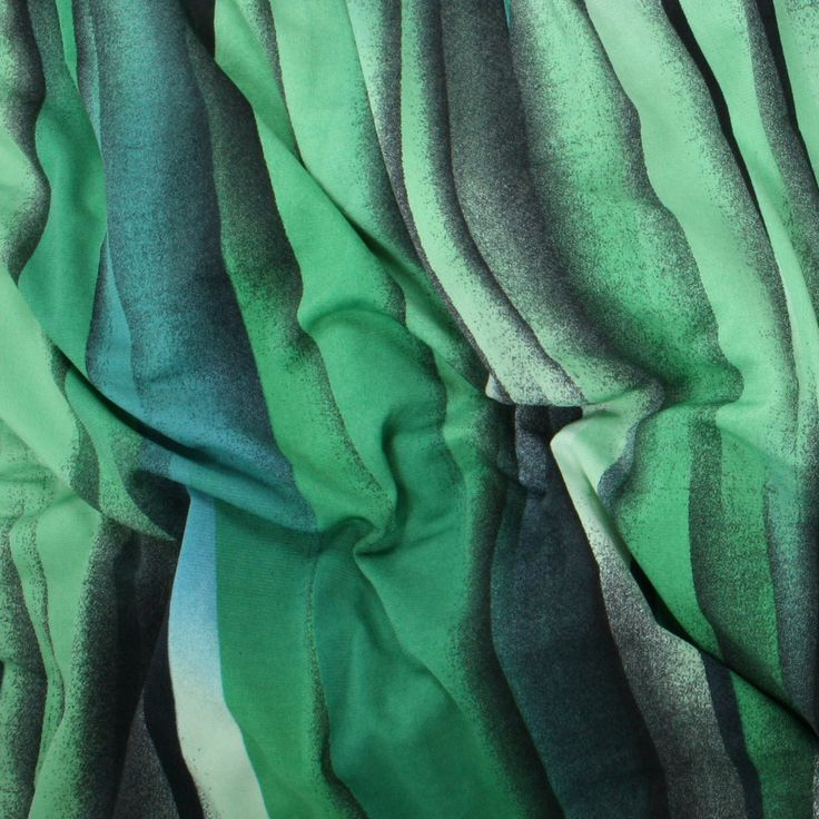 ITY Knit Jersey - Green Stripes - Distinctive Sewing Supplies