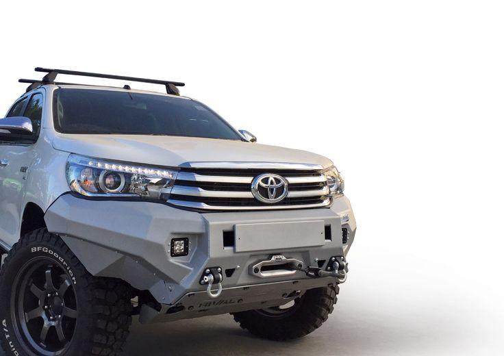 Toyota Tundra Diesel 2016 >> Toyota Hilux 2016+ Front Bumper | Trucks | Pinterest ...