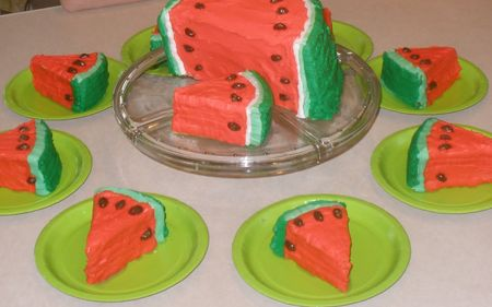 Make this in celebration of National Watermelon Day, August 3rd!