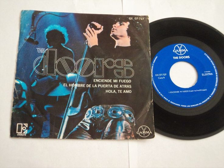 The Doors Light My Fire Mexican single released in picture sleeve #thedoors #single #vinyl