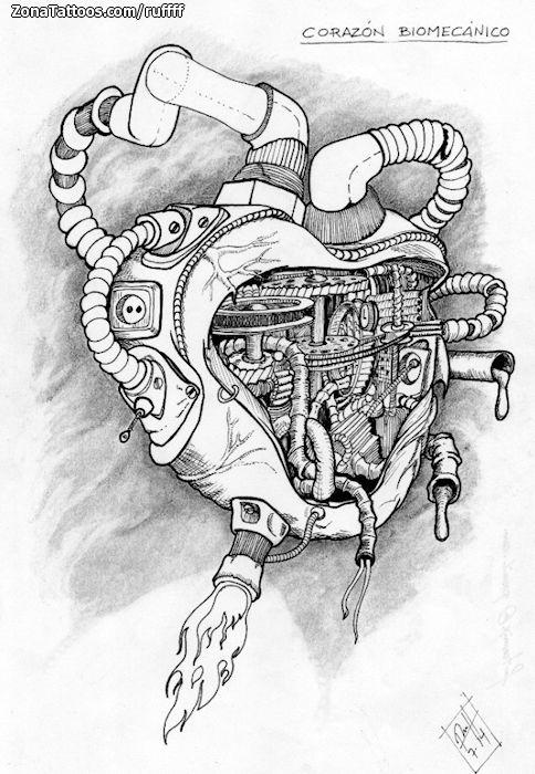 Diseño/Plantilla tatuaje Corazones