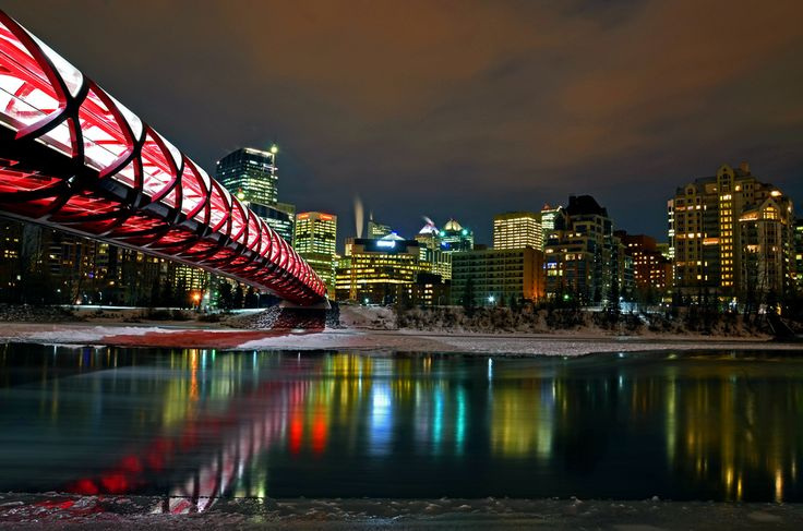 Peace Bridge- Calgary Canada