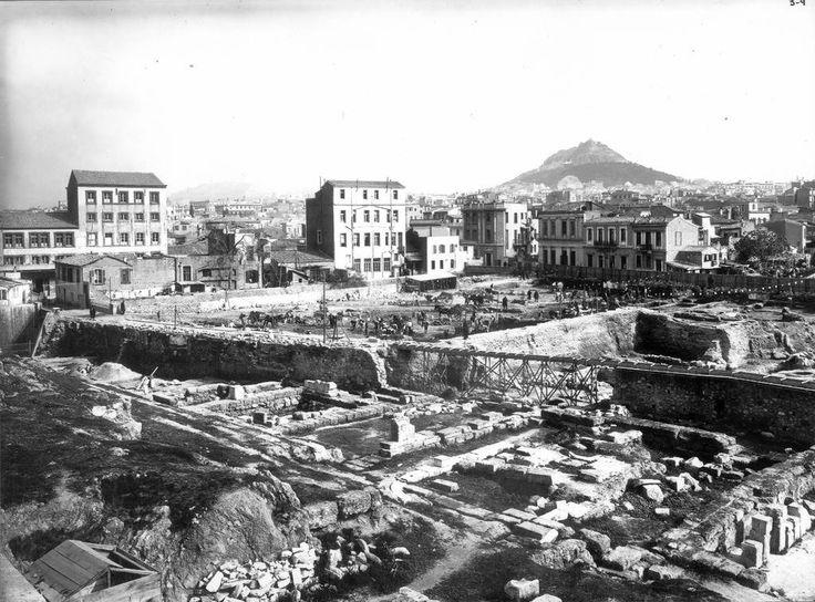 Ανασκαφές στην Αρχαία Αγορά,1933....