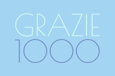 Seguitemi! Presto un nuovo giveaway ;) Sulle ali di un libro... : Grazie 1000
