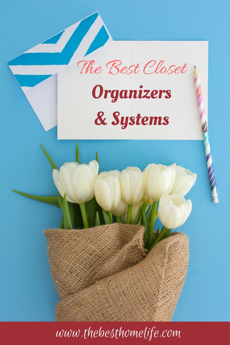 Closet organization can be time consuming because of clutter and too many things. Finding some organizers that will help you keep your closet organized and cleaner longer