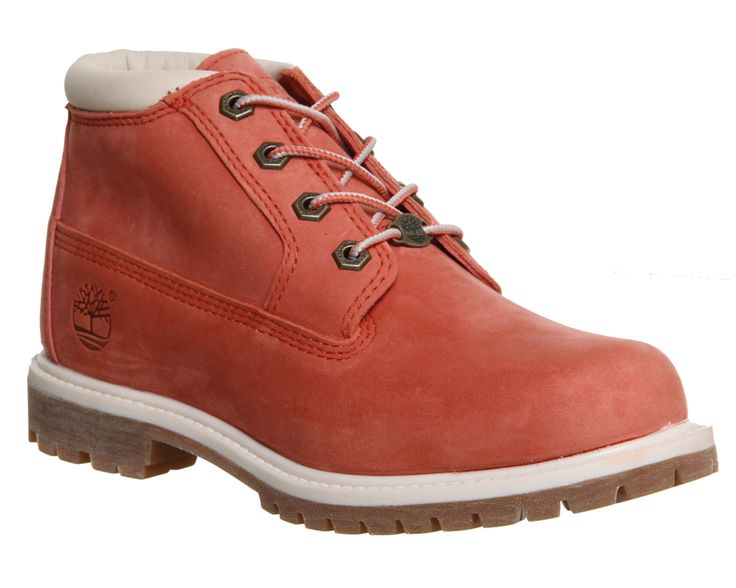 Timberland Nellie Chukka Double Waterproof Boot Salmon Nubuck Exclusive - Ankle Boots