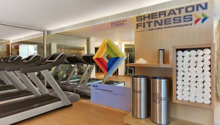 Charge up with Sheraton Fitness and our LifeFitness treadmill