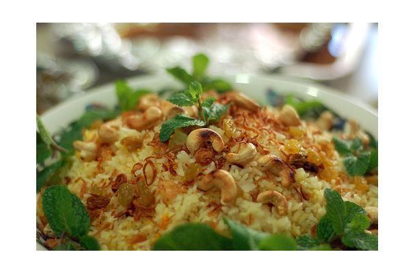 Nasi Minyak (Malaysian Festive Rice) | Category: Main Dishes