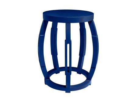 Best Bungalow 5 Tabouret Lacquer Furniture Blue Furniture 400 x 300