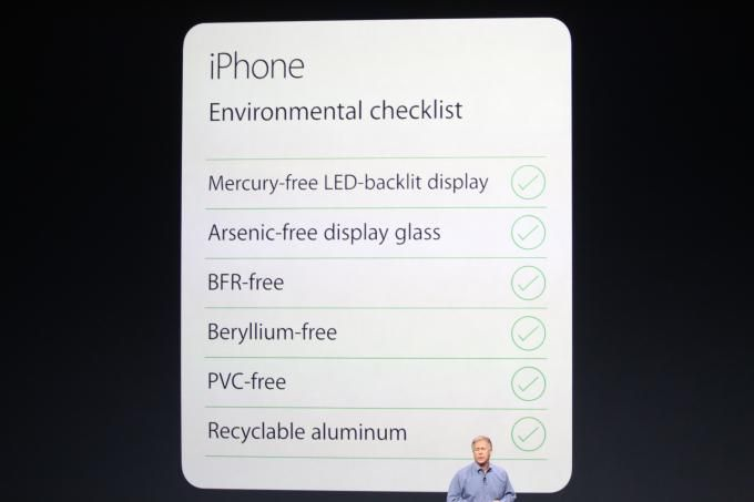 The environmental checklist for the new #iPhone6
