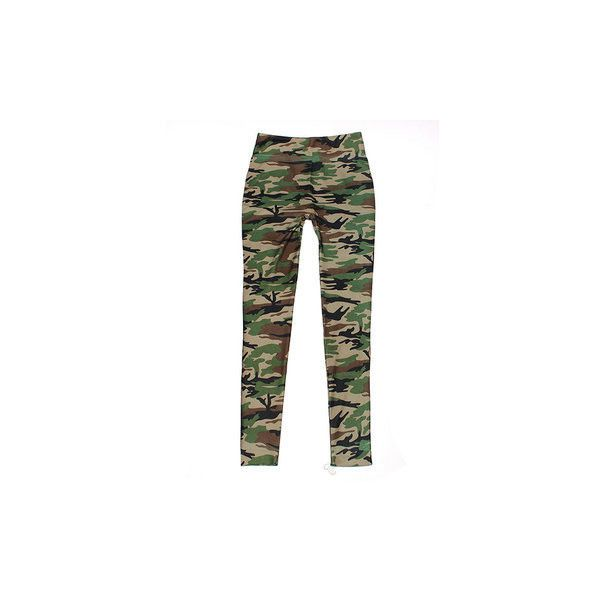 Women Lady Camouflage Trouser Army Tights Pants Stretch Leggings ($6.76) ❤ liked on Polyvore featuring pants, leggings, army green, olive leggings, stretch pants, camouflage pants, white pants and white stretch pants