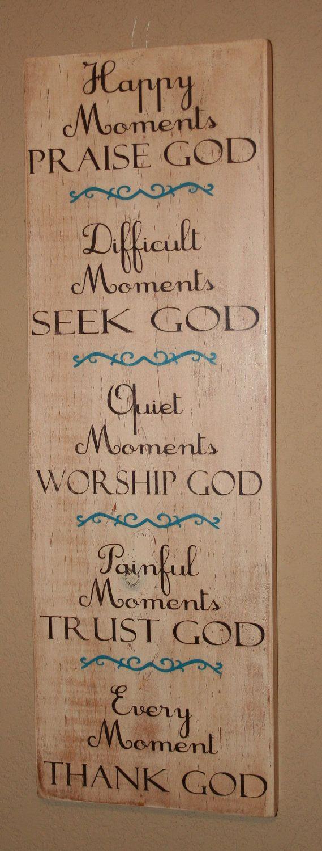 A good reminder  Thank God by DeenasDesign on Etsy, $40.00