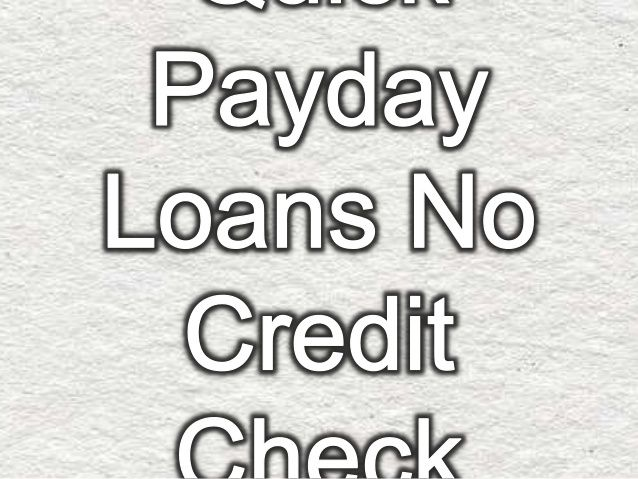No credit check payday loans are like benefit for the unfavorable credit holders before your payday at emergency time, who necessitate applying for the last minute finance regardless of being low credit holders at the time of real needs. #nocreditcheckpaydayloans