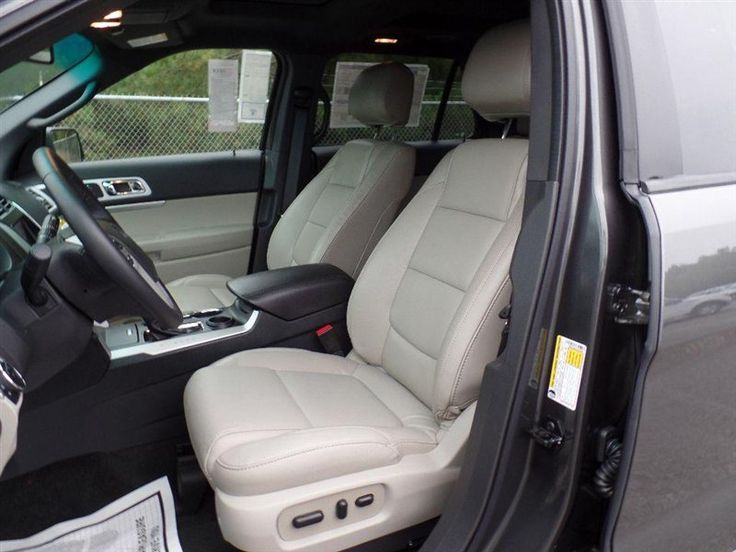 ford explorer 2015 leather interiors light stone - Google Search