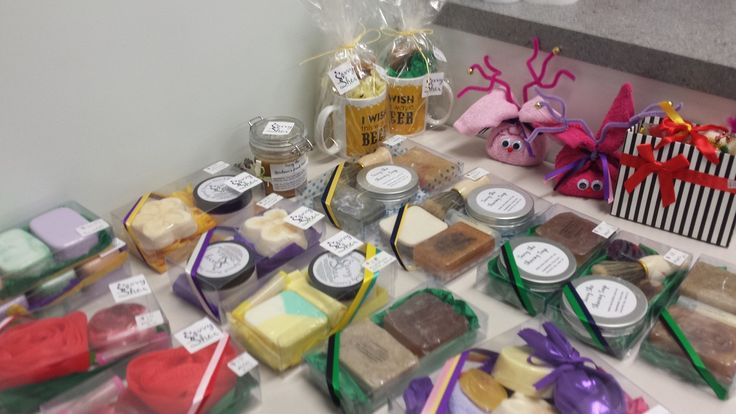 Some of our Christmas Gift Packs - these are getting snapped up as quick as we make them!  ~Savvy She
