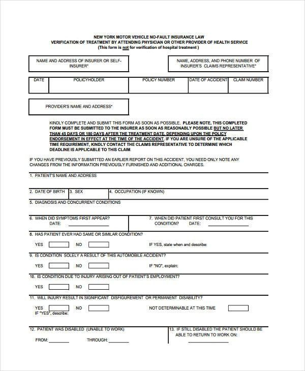 Insurance Verification Form Google Search Insurance Health