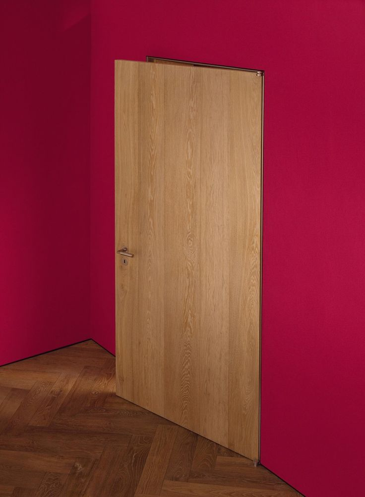 Flush door system for Schotten & Hansen.