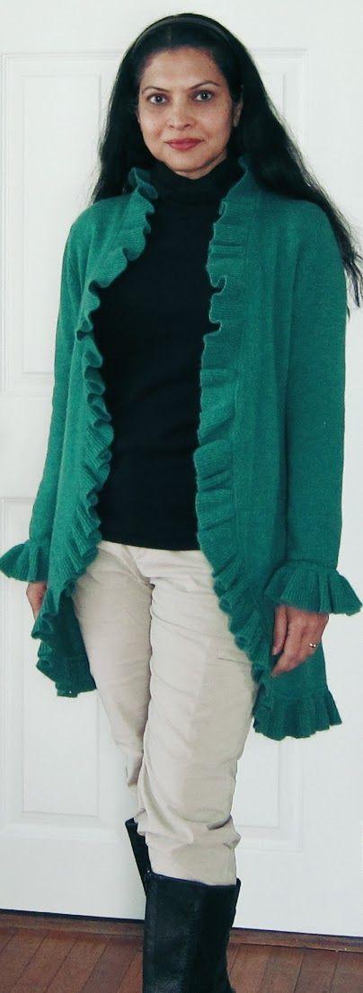 Uniqlo fleece turtleneck, Kinross cashmere cardigan, Uniqlo fleece lined pants, Keen boots -  Jan 6, 2016