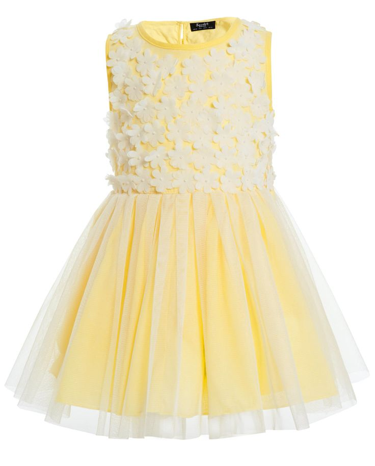 Baby Girl`s Daisy Dress - Bardot Junior