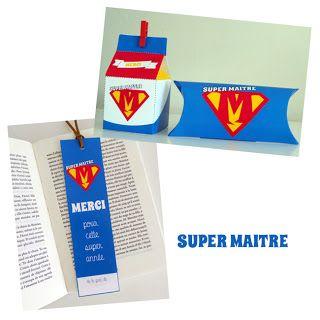 Impressionne nous !: Free printables : Petits cadeaux de fin d'année pour supers maîtres et maîtresses