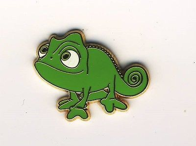 Disney Pins DLP Tangled Pascal | WE totally need to get these cool pins for each of us girls going to disney!