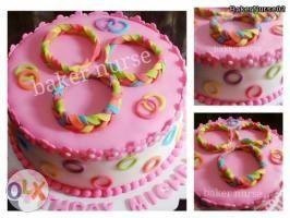 Loomband cake