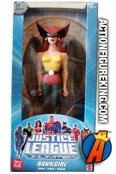 10-inch tall Hawkgirl roto figure based on the Justice League animated series.