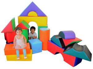 21 Piece Foam Block Set great start for indoor playroom!