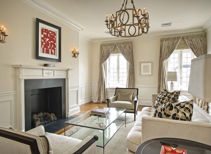 Gallery | Lewis Interiors | Boston Interior Designers · Neutral Living RoomsBeautiful  ...