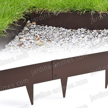 17 meilleures idees a propos de bordure pelouse sur With amenagement jardin sans pelouse 15 bordurette metal acier 1m francais bordurette gazon