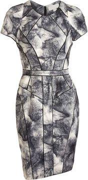 shopstyle.com: Bensoni Fur Print Sheath Dress