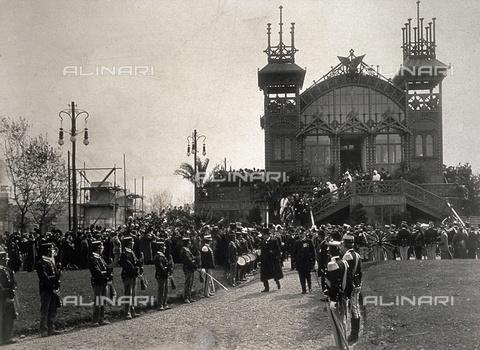 L'inaugurazione dell'Esposizione Internazionale del Sempione di #Milano 1906 alla presenza del Re d'Italia. #Expo2015 #Expostory