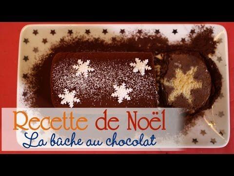 Bûche au chocolat - Recette dessert Noël