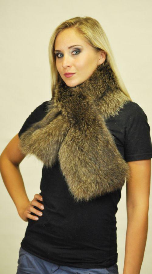 Sciarpa in marmotta http://www.amifur.com