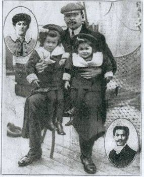 The Haitian Family on the Titanic |  Joseph Philippe Lemercier Laroche and his family | text by kreyolicious.com