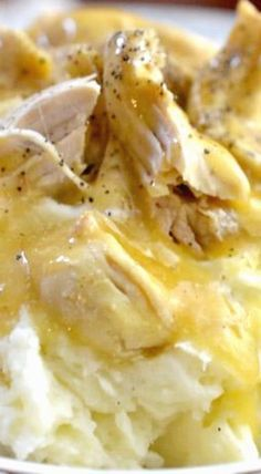 Crockpot Chicken & Gravy _ Yesterday was one of those days that I needed to seek comfort… My process for shopping, cooking, & photographing brought me the comfort I was looking for. Because I built my actions around the way I wanted to feel…I felt better… What brings you comfort? I would love to know!! Buon Appetito! Ciao!