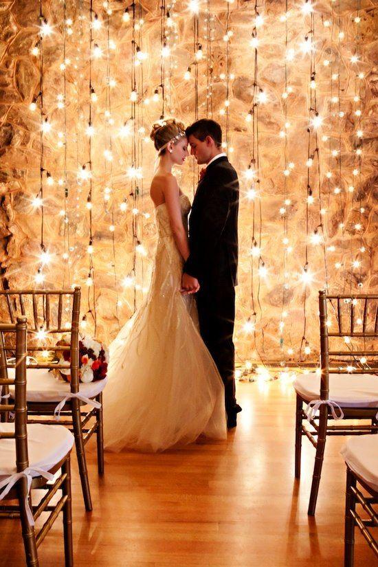 light bulb backdrop