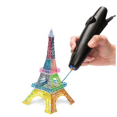 The World's First 3D Printing Pen - Hammacher Schlemmer Oh, my, gosh, the possibilities! My mind is literally bursting! COMING OUT SOON!!!